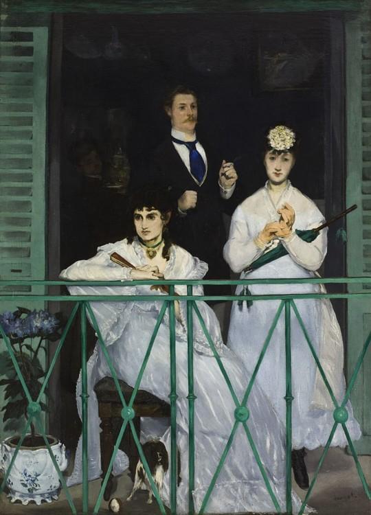 «Балкон», 1869 (Лувр, Париж)