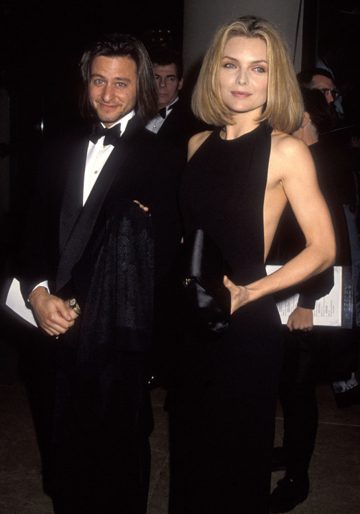 Фишер Стивенс и Мишель Пфайффер, 1992