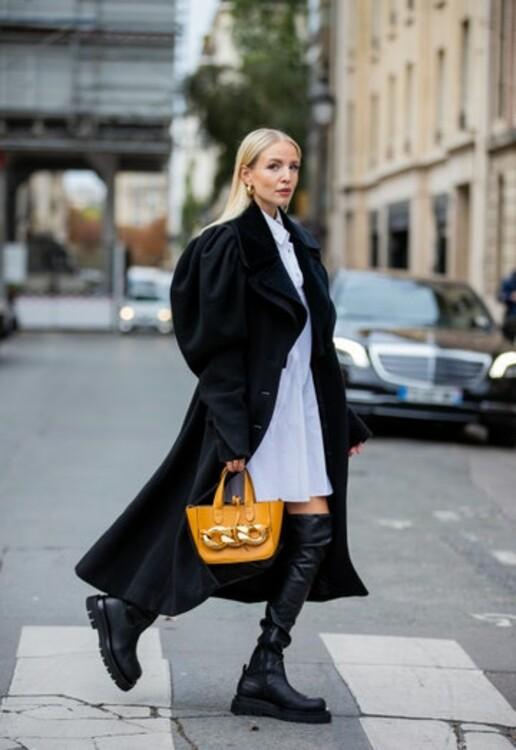Грубые ботинки с элегантным пальто. Photo: Christian Vierig