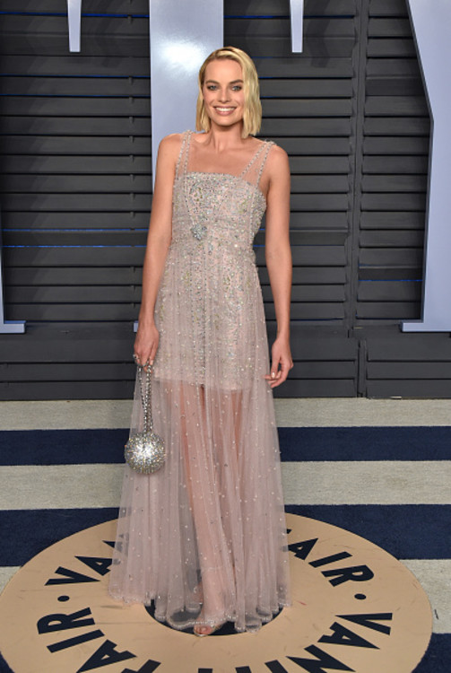 Марго Робби в платье Chanel Haute Couture