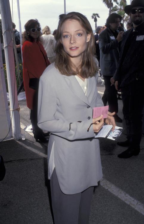 Джоди Фостер на 8-й церемонии вручения премии «Независимый дух», 1993 год