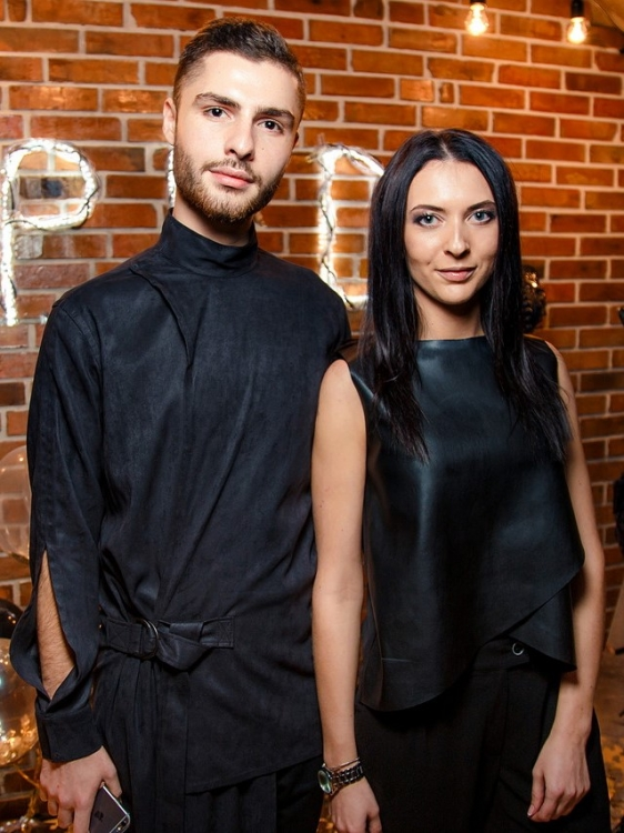 Ладик Костандян и Анастасия Абрамова