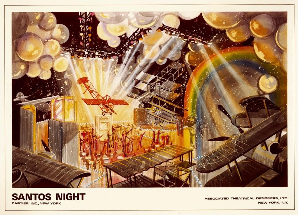 Приглашение на прием Santos Night в Нью-Йорке, 1979 год