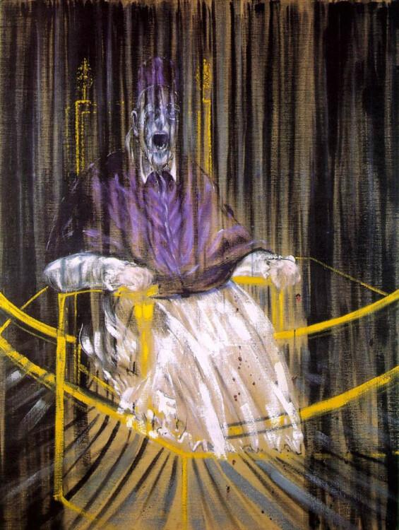 «Портрет папы Иннокентия X», 1954 (Частная коллекция)