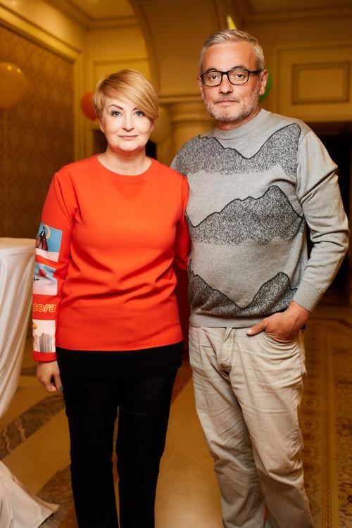 Ірина Данилевська та Володимир Нечипорук