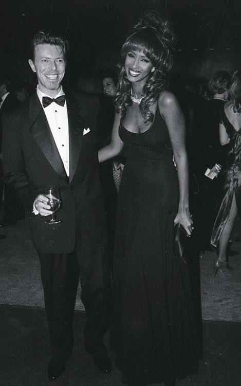 Дэвид Боуи иИман, 1990-е