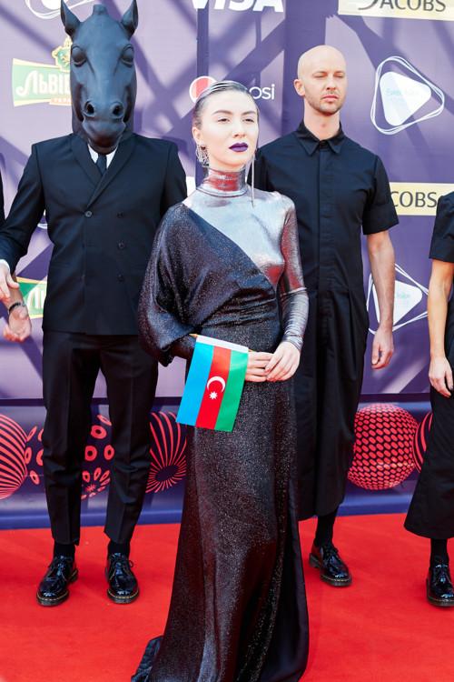 Дихаж, представительница Азербайджана