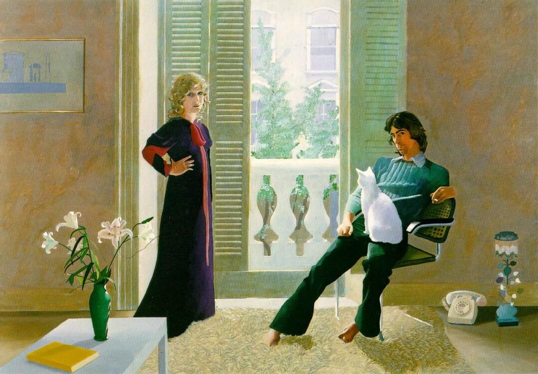 «Містер і місіс Кларк і Персі», 1971