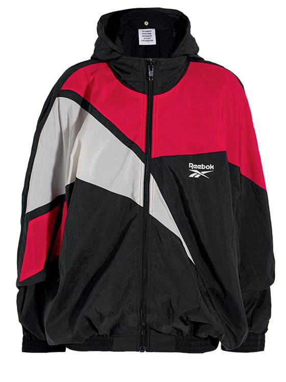 Спортивная куртка из нейлона, Vetements x Reebok