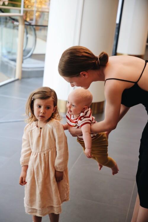 Анна Гришенко с детьми