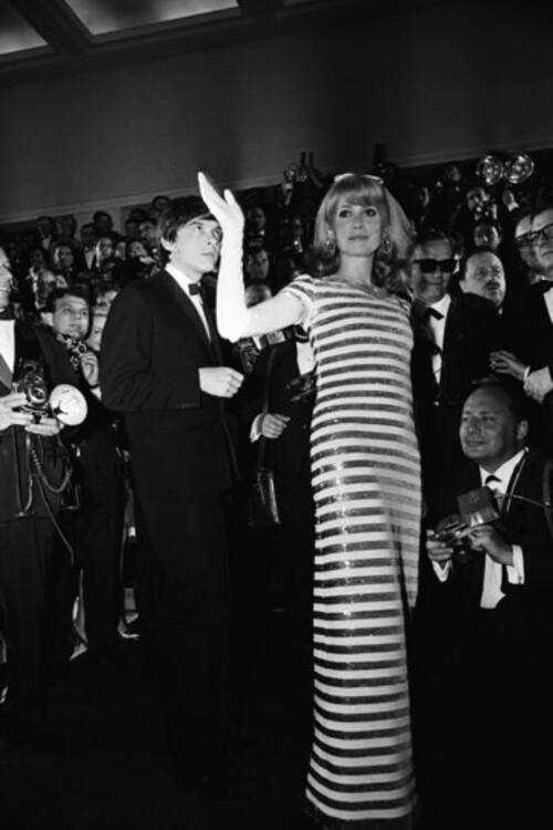 Дэвид Бейли и Катрин Денев, 1966