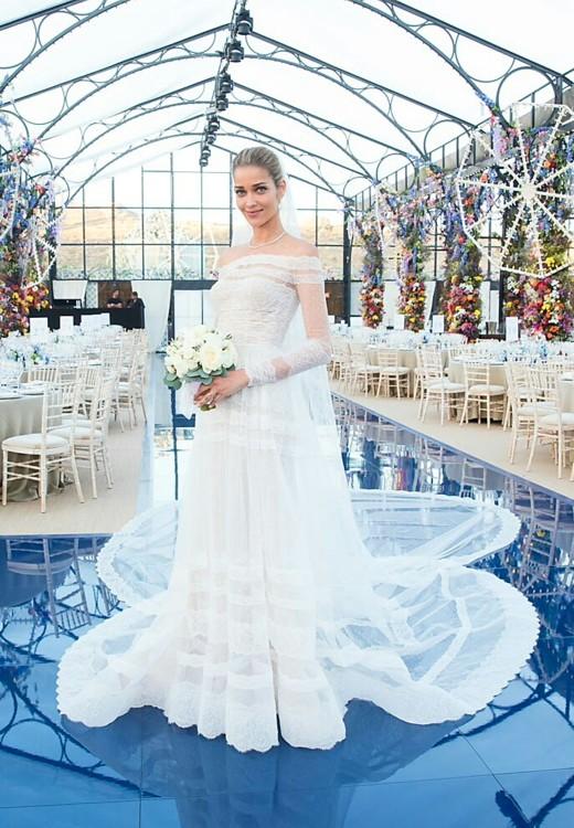 Ана Беатрис Баррос в платье Valentino Couture