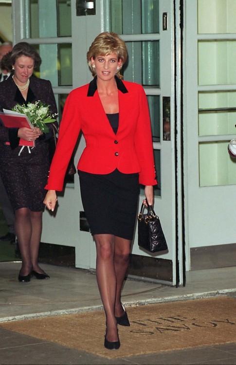 Принцесса Диана в отеле Savoy