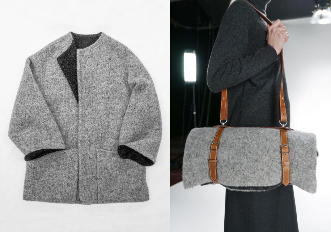 Hermès, весна-лето 2000, пальто Le porte vêtement, фото Monica Ho и Marina Faust