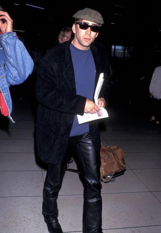 Николас Кейдж в Лос-Анджелесе 21 апреля 1995 года
