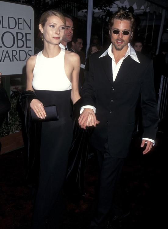 Гвинет Пэлтроу и Брэд Питт, 1996