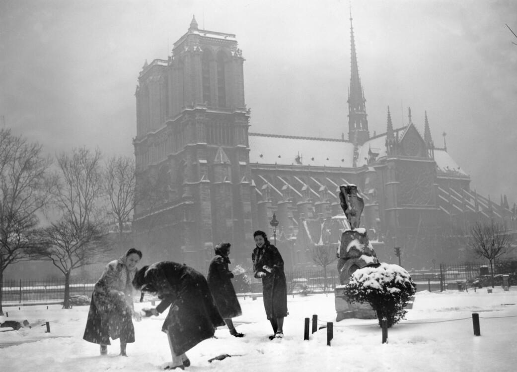 Зимові ігри біля Нотр-Дама де Парі, 1938