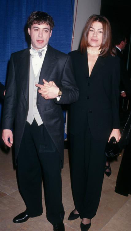 Роберт Дауни младший и Дебора Фальконе, 1993
