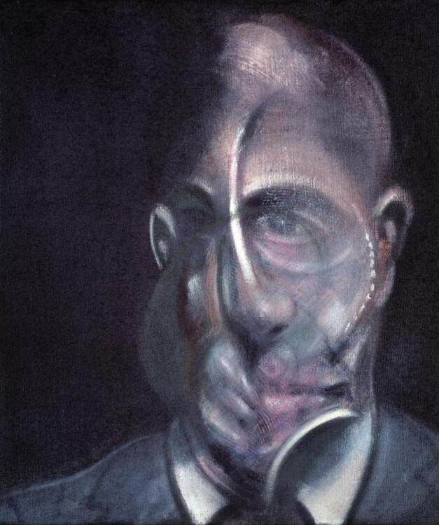 «Портрет Мишеля Лейриса», 1976 (Национальный центр искусства и культуры Жоржа Помпиду, Париж)