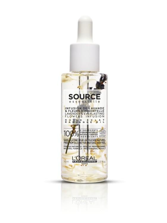 Масло з лавандою для сяяння волосся, Source Essentielle