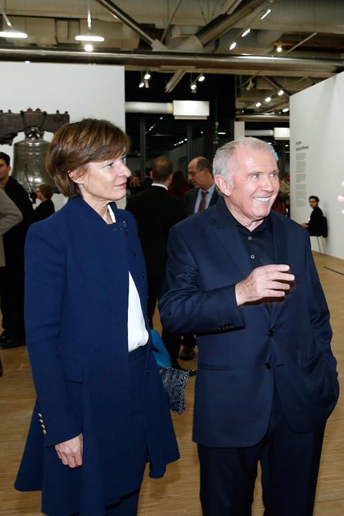 Патрисия  Барбизе и Франсуа Пино