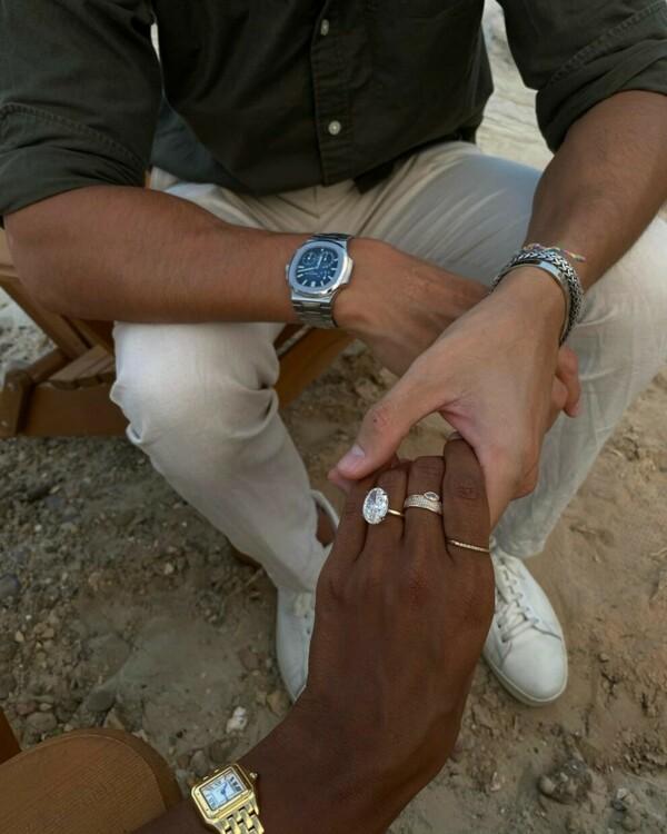 Помолвочное кольцо Жасмин Тукс