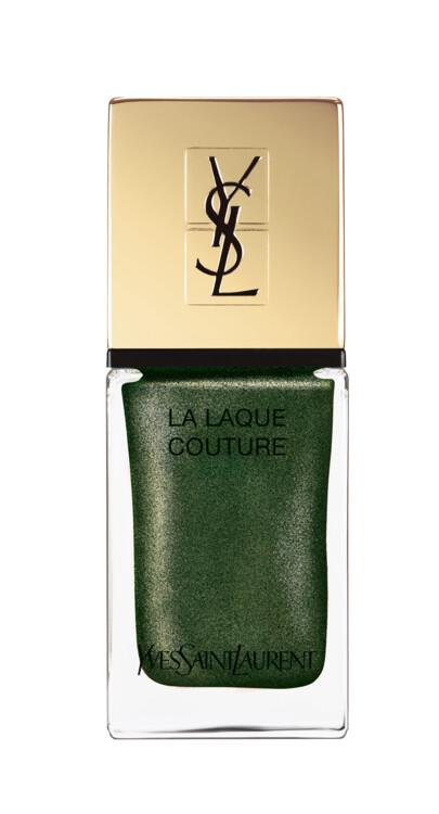 Лак для ногтей La Laque Couture #114 Vert Decadent,  YSL Beaute