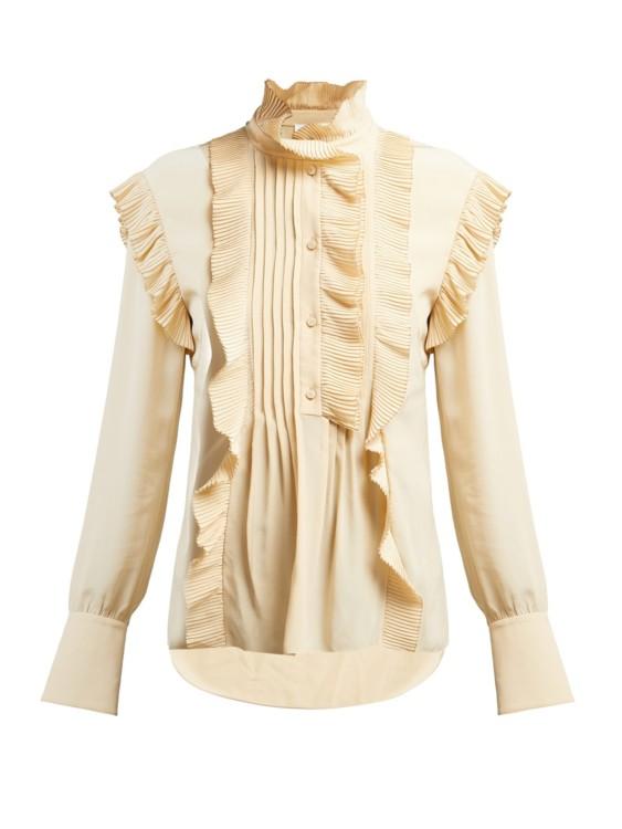 Блуза из крепдешина, Chloé