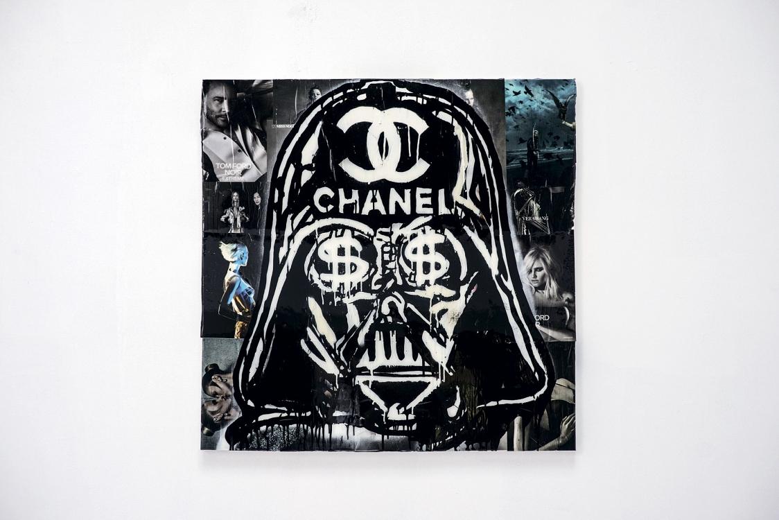 На фото – работа из серии Vader Chanel