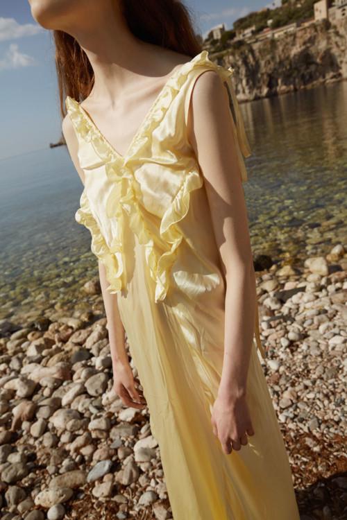Шелковое платье, Attico