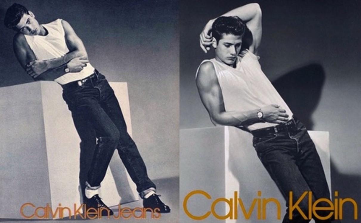 Calvin Klein Jeans, осень-зима 1985