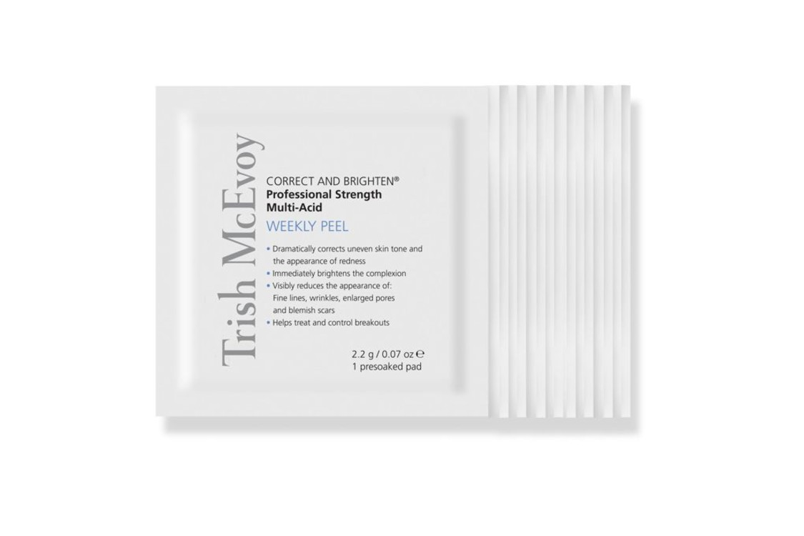 Пилинг для лица Correct and Brighten Professional Strength Multi-Acid Weekly Peel, Trish McEvoy