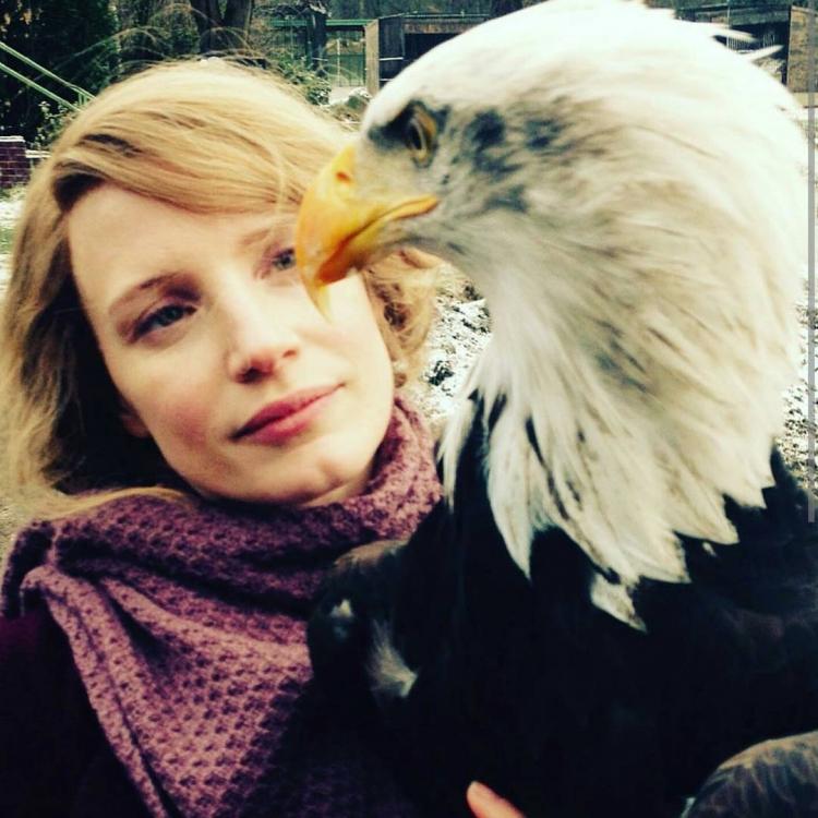 Джессика Честейн в День благодарения была на съемках в Праге