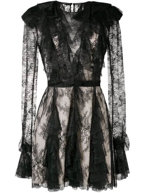 PHILOSOPHY DI LORENZO SERAFINI sheer lace dress