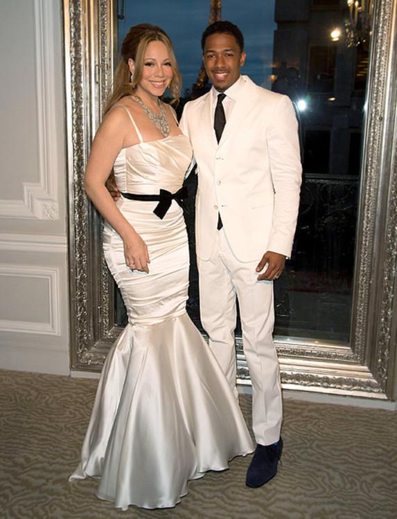 Свадебное платье Мэрайа Кэри