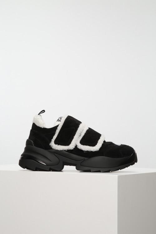 Замшевые кроссовки, Sergio Rossi