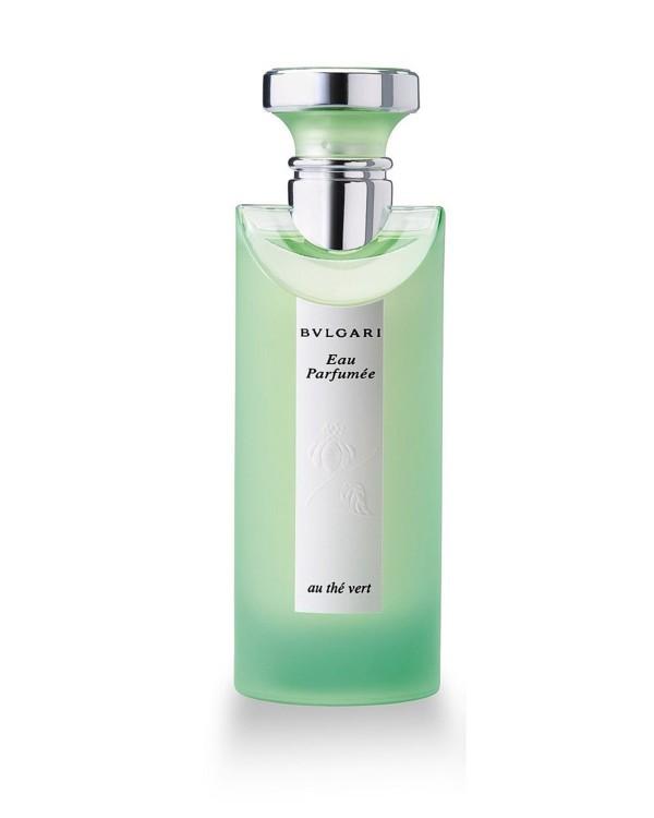 Eau Parfumee au The Vert, Bvlgari, с нотами зеленого чая, кардамона, лайма и ландыша