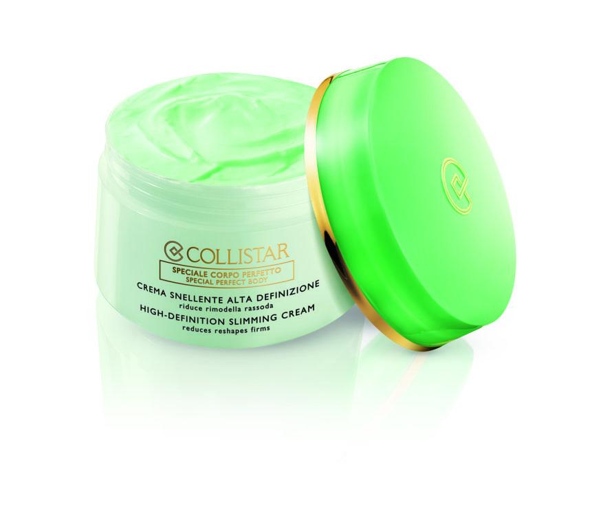 Крем для похудения с морской спирулиной, липолитиками, витаминами и светоотражающей пудрой High Definition Slimming Cream, Collistar