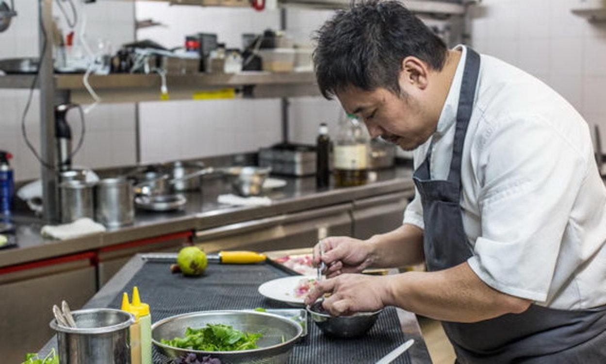 Есиаки Ито, шеф-повар L'Archeste