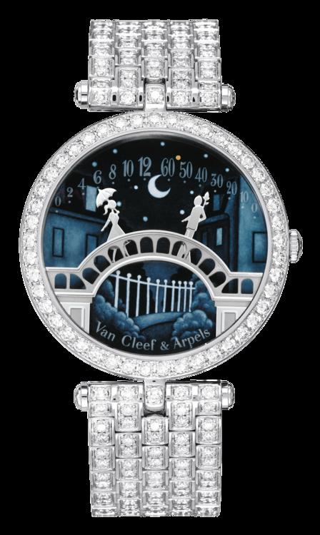 Часы Lady Arpels Pont des Amoureux, Van Cleef & Arpels
