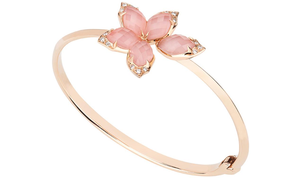 Кольцо из розового золота с горным хрусталем и бриллиантами, Stephen Webster