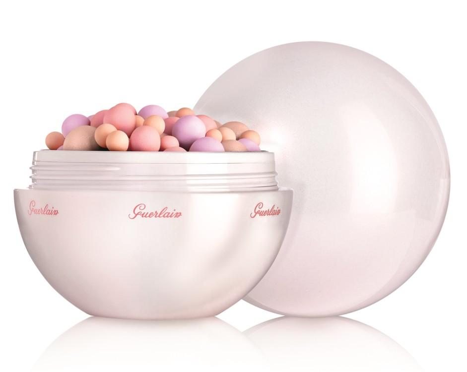 Пудра в шариках Météorites Happy Glow Pearls из весенней коллекции макияжа Guerlain 2017, юбилейный лимитированный выпуск (Рождество 2016)