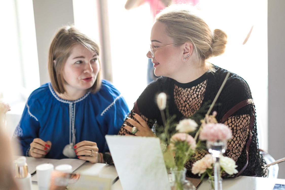 Ксения Булавина и Ирина Литус