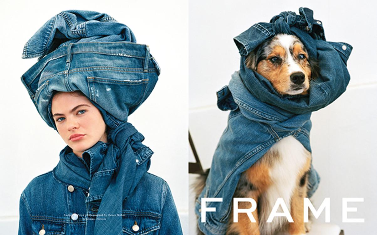 Рекламная кампания Frame