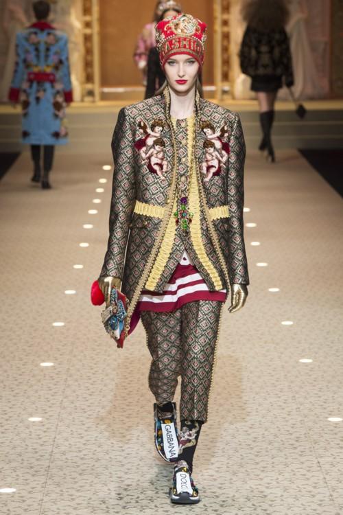 Катерина Зуб, Dolce & Gabbana