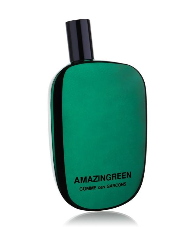 Amazingreen, Comme des Garçons, с нотами зелени, плюща, зеленого перца и пальмовых листьев