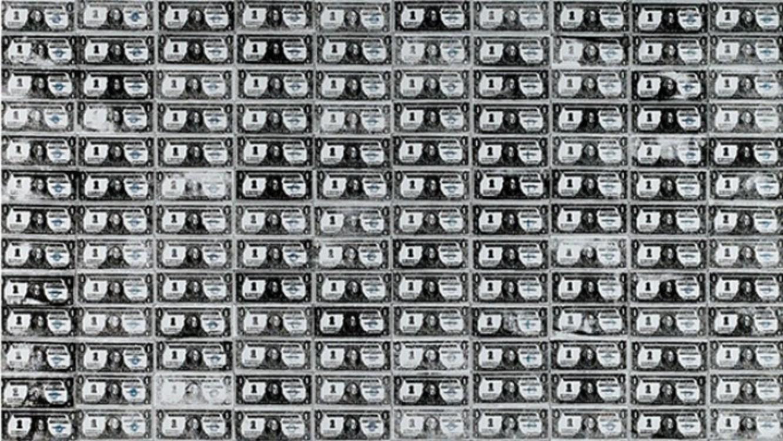 """""""200 долларовых банкнот"""", 1962"""