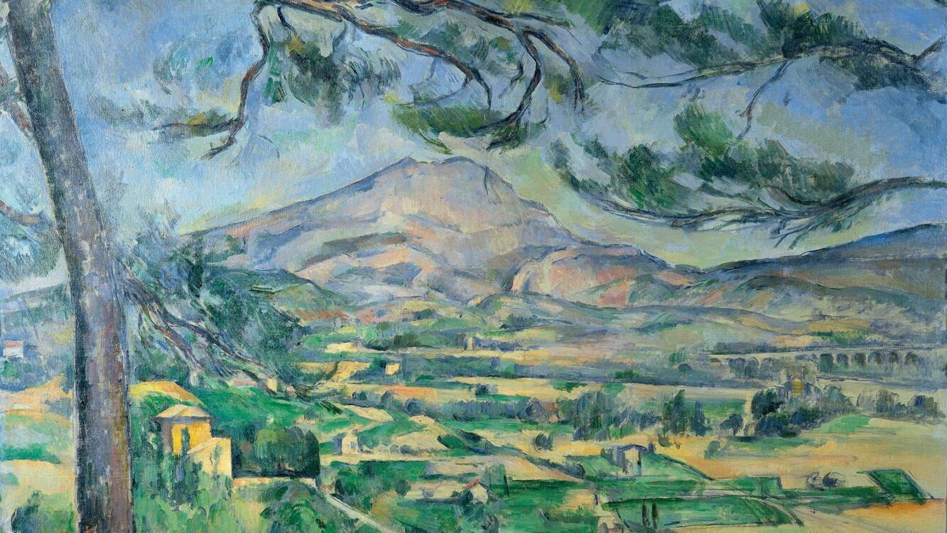 «Гора Сент-Виктуар с большой сосной», Поль Сезанн