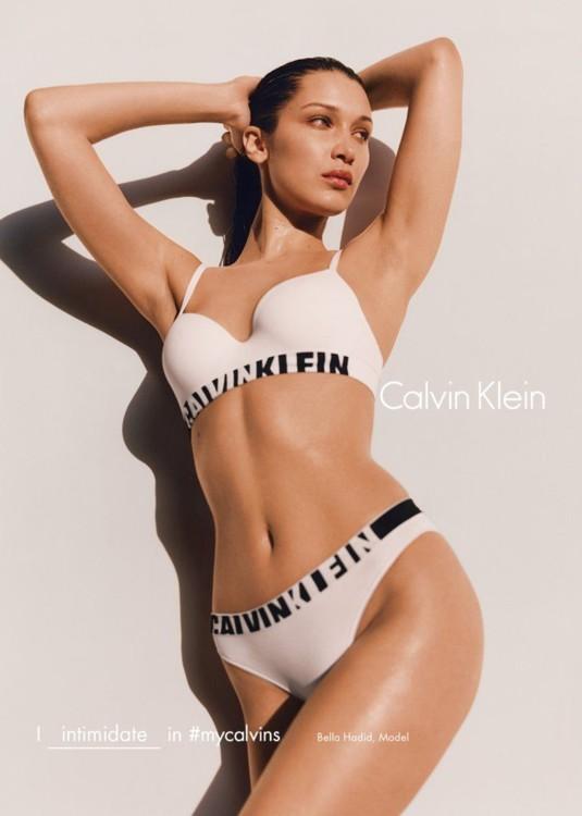 Белла Хадид для Calvin Klein