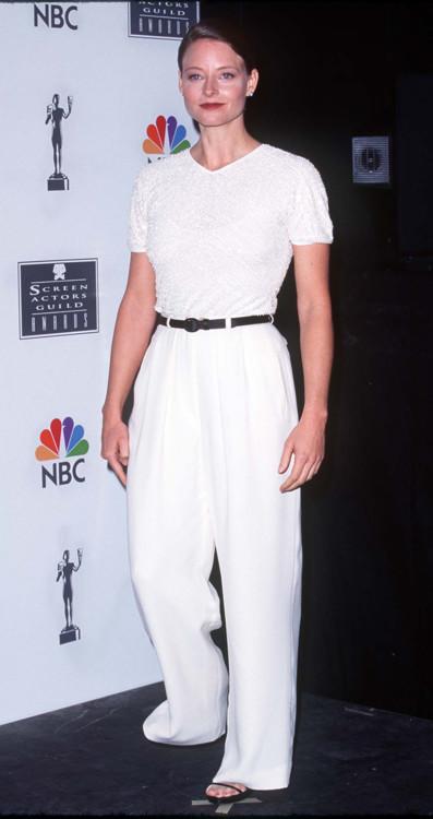 Джуди Фостер на 2-й церемонии Премии Гильдии киноактёров США, 1997 год